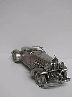 Vintage Danbury Mint 1933 Duesenberg Boattail SJ Pewter Car