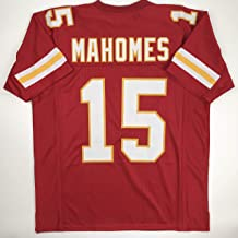Unsigned Patrick Mahomes Kansas City Red Custom Stitched Football Jersey Size Men's XL New No Brands/Logos