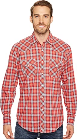 Wrangler - 20X Competition Ac Shirt Button Plaid