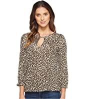MICHAEL Michael Kors - Mini Finly Peasant Top