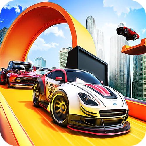 Hot Car Wheels Mega Ramp Car Stunts Games