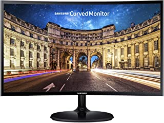 Samsung CF390 Series 27 inch FHD 1920x1080 Curved Desktop Monitor for Business, HDMI, VGA, VESA mountable, 3-Year Warranty...