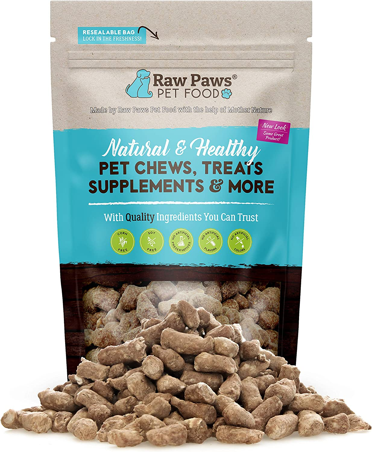 Raw Paws Pet Chicken Freeze Cat Treats 4-oz Dried Large-scale sale Opening large release sale Dog