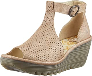 Fly London Yall962fly, Sandales Bout Ouvert Femme