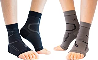 Best Thirty48 Plantar Fasciitis Compression Socks(1 or 2 Pairs), 20-30 mmHg Foot Compression Sleeves for Ankle/Heel Support, Increase Blood Circulation, Relieve Arch Pain, Reduce Foot Swelling Review