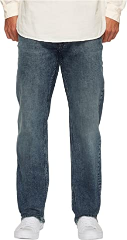 Calvin Klein Jeans - Straight Leg Jeans in Atlas Blue
