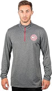NBA Men's Quarter-Zip Pullover Active Shirt