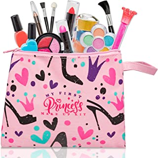My First Princess Make Up Kit - 12 Pc Kids Makeup Set -...