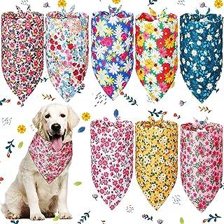Quality Custom Personalized Embroidered Dog Bandana Fall Girl Gradient Dog Scarf Rainbow Dog Scarf Winter Boy Modern Trendy