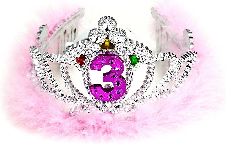 FORUM Novelties 3rd Birthday Flashing Tiara