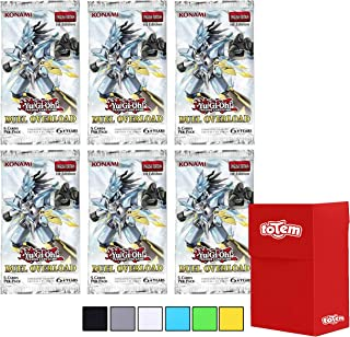 Totem World 6 YuGiOh Duel Overload 1st Edition Booster Packs with Totem Deck Box - Features 30 Ultra Rare Yu-Gi-Oh Cards