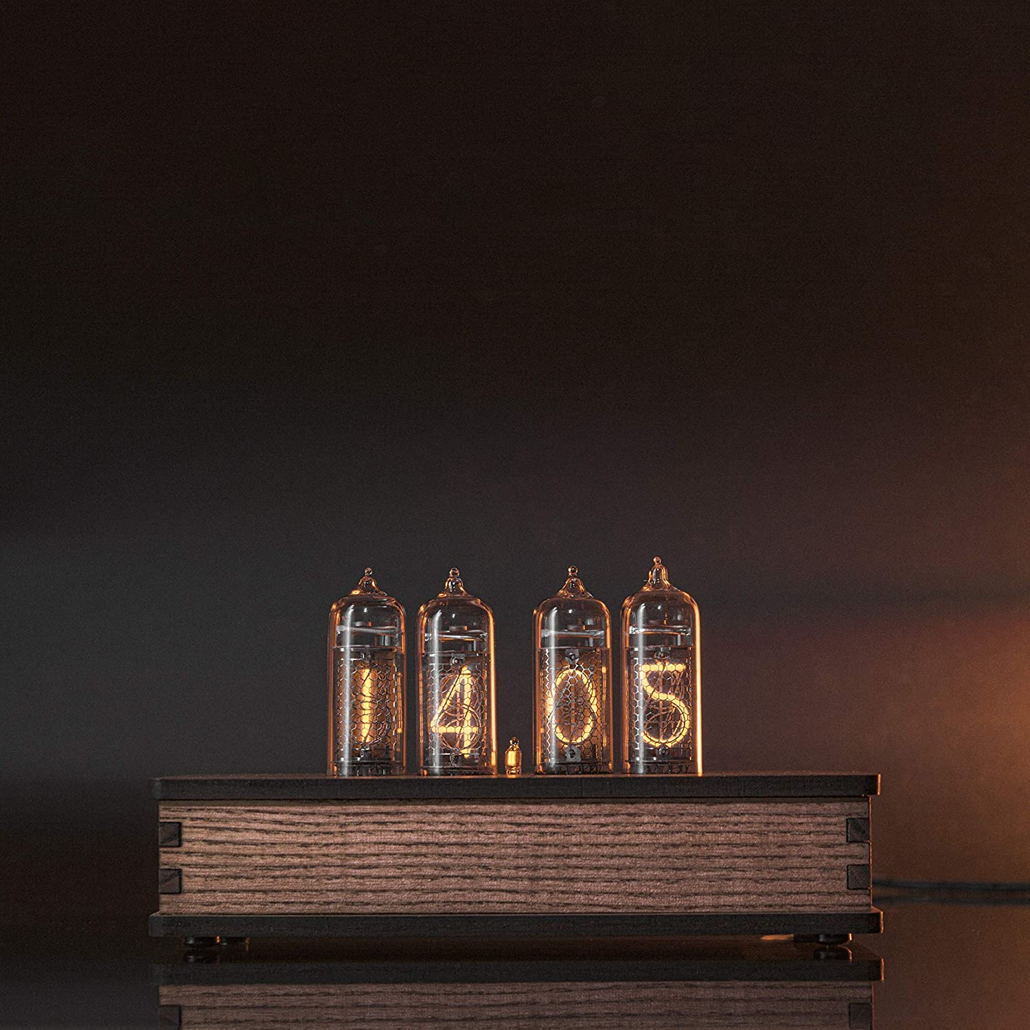Nixie Dallas Mall Tube Clock with High quality Easy IN-14 Tubes Replaceable - Motio