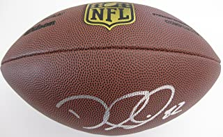 Delanie Walker Tennessee Titans, 49ers, Signed, Autographed, NFL Duke Football, a COA with the Proof Photo of Delanie Signing Will Be Included