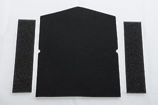 Miele Filter für Wärmepumpentrockner 1 x Filter Tür, 2 x Filter Einfüllring - Nr.: 7358901