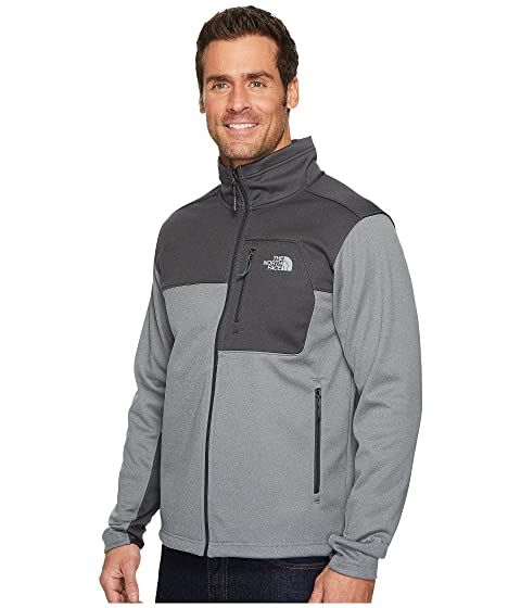 The Gris Medio Chaqueta Risor North TNF Face Heather Heather TNF Apex Oscuro Gris pYpqrw