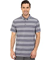 PUMA Golf - Short Sleeve Tailored Multi Stripe Polo