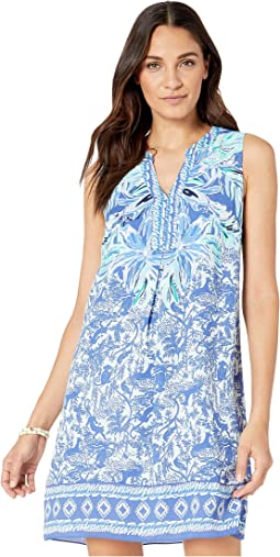 High Tide Navy Ready Set Gecko Engineered Dress