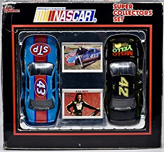 1992 - Racing Champions/NASCAR - Petty Super Collectors Set - #43 & #42 Stock Cars 1:24 Scale Die Cast w/ 2 Collector Cards - OOP - Collectible