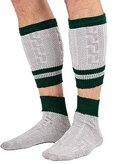 Calcetines tradicionales Loferl - calcetines tradicionales de 2 piezas con pantalones de cuero calentadores de pantorrilla calcetines Loferl