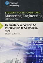 Mastering Engineering with Pearson eText -- Access Card -- for Elementary Surveying: An Introduction to Geomatics (15th Edition)