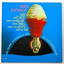 Marce Sinfoniche Banda Dell'arma Dei Carabinieri Di Roma Vinyl