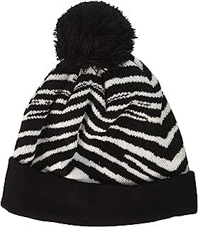 zebra winter hat