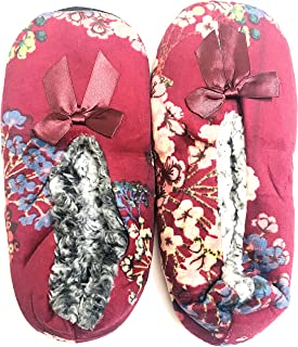 KCR Winter Indoor Carpet Belly Slippers with Fur for women, girls(1 pair)