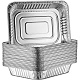 30-Pack Aluminum Half-Size Roasting Pans - Super-Thick 9x13