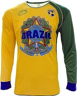 Brazil 2016 New Arza Soccer Jersey Long Sleeve