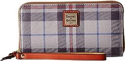 Dooney & Bourke - Tiverton Large Zip Around Wristlet