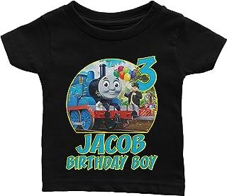 Custom Thomas The Train Birthday Shirt