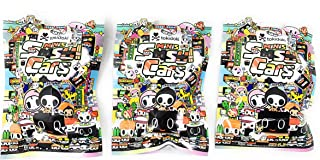 Tokidoki Sushi Cars Minis Collectible Figure Blind Bag (Pack of 3)