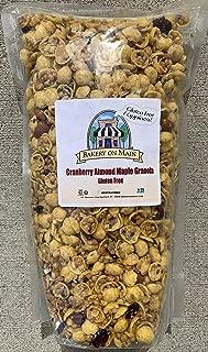 Bakery On Main Gluten-Free, Non GMO Granola, Cranberry Almond Maple, 2.5 Pound