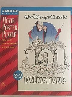 Walt Disney Classic 101 Dalmatians 300 Piece Movie Poster Puzzle