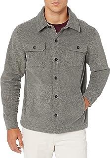 [Amazon Essentials] フリース 長袖 ジャケット シャツ メンズ