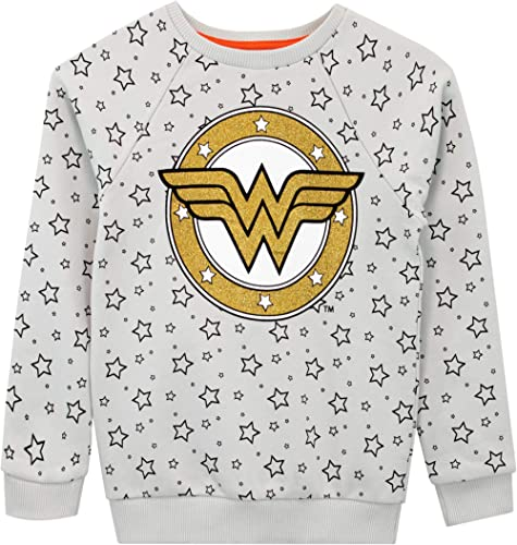 DC Comics Sudadera para niñas Wonder Woman