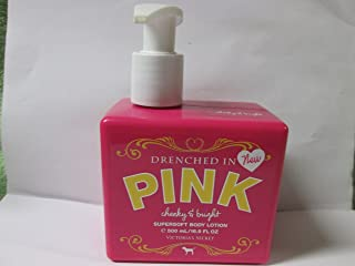 Victoria's Secret Drenched in PINK Cheeky & Bright supersoft Body Lotion 16.9 fl oz