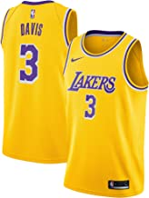 Anthony Davis Los Angeles Lakers #3 Youth 8-20 Yellow Icon Edition Swingman Jersey