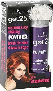 SCHWARZKOPF GOT2B POWERFUL VOLUME STYLING POWDER FOR FULL HAIR STYLE 10g
