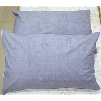 "Trance Home Linen Waterproof & Dustproof Pillow Protector-18 x 28"" (Grey)"