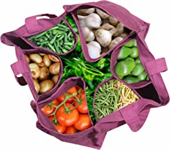 Ryan Overseas Cotton Vegetable Carry Bag/Reusable Bag - 12 x 14.5 (wxl)