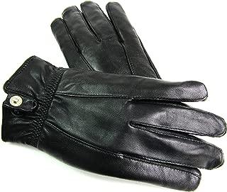 The Leather Emporium Ladies Genuine Leather Gloves Fleece Lined