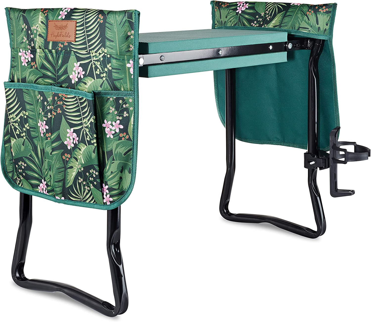 HayloFields Garden 70% OFF Outlet Kneeler and Seat Discount mail order 2 Drink Pouches Tool with