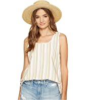 Jack by BB Dakota - Bowe Stripe Cotton Rayon V-Back Tank Top