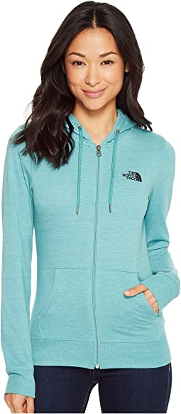 The North Face - Lightweight Tri-Blend Full Zip Hoodie