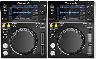 Pioneer DJ XDJ-700 Rekordbox & Midi Compatible Compact Digital DJ Media Player with Wi-Fi Playback, Advanced Playback Options and Pro DJ Link Interconnectivity - (Pair)