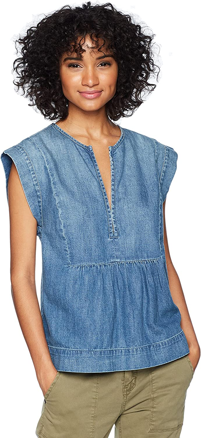 AG Adriano goldschmied Womens Trista Top Blouse