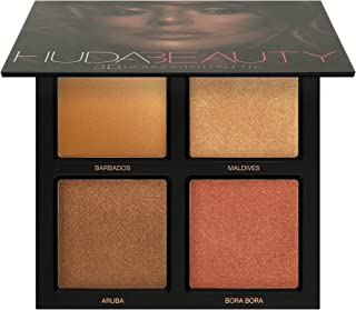 NEW HUDA BEAUTY Easy Bake Loose Baking and Setting Powder - Banana Bread 35O3 FIERCE BY NATURE ARTISTRY PALETTE Huda Beauty 3D Highlighter Palette ~ Bronze Sands Edition