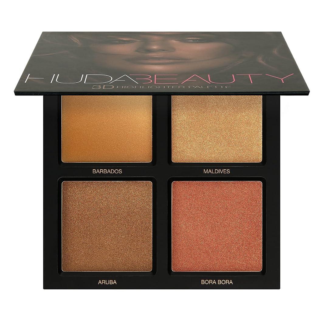 削減ヒョウ法律Huda Beauty Bronze Sands 3D Highlighter Palette