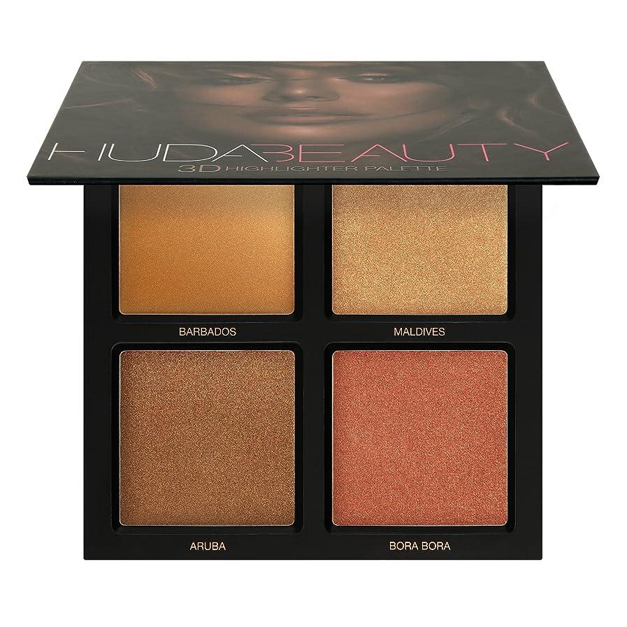 接辞ブロック規範Huda Beauty Bronze Sands 3D Highlighter Palette